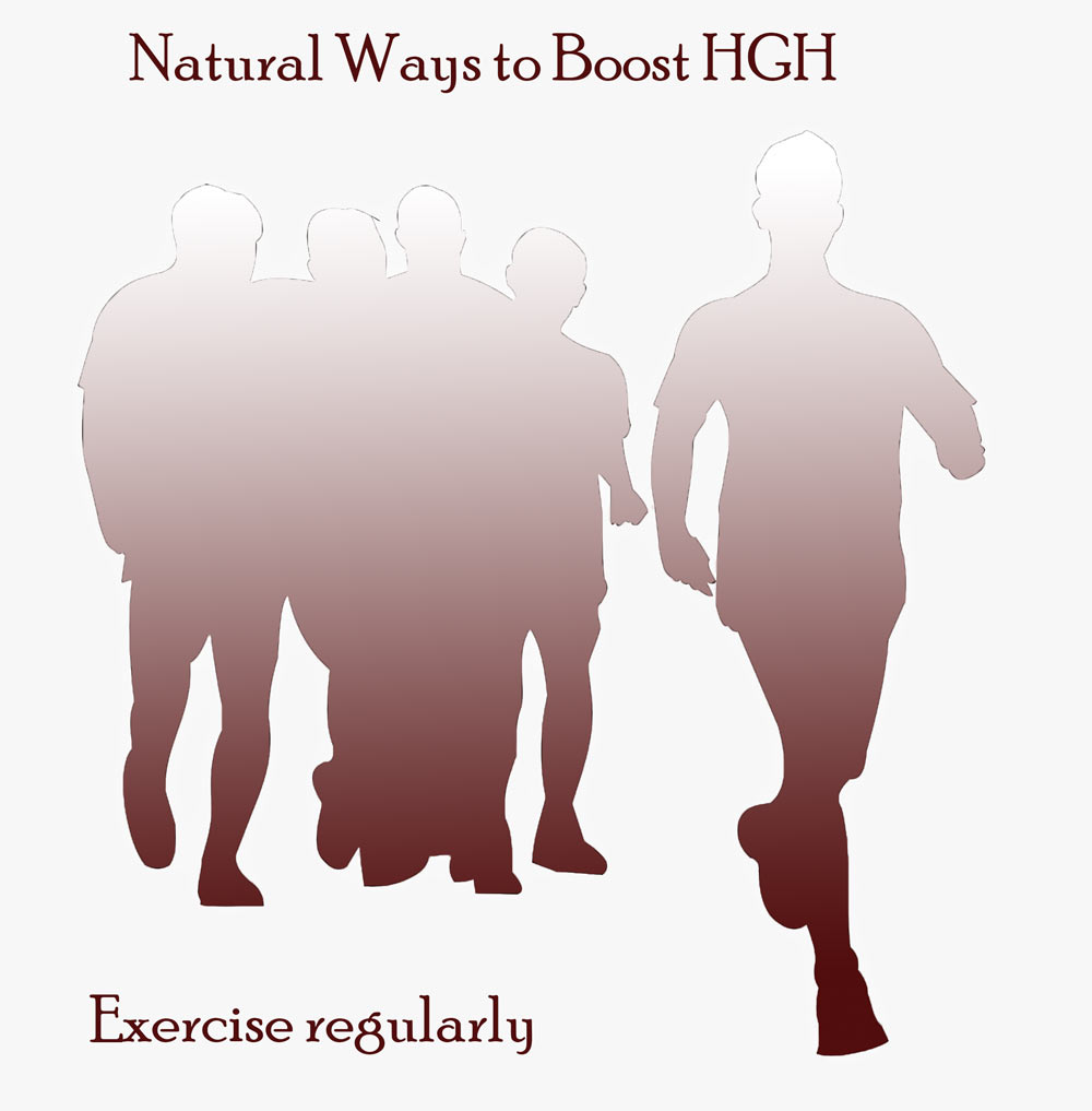 Natural Ways Boost HGH Exercise Regularly