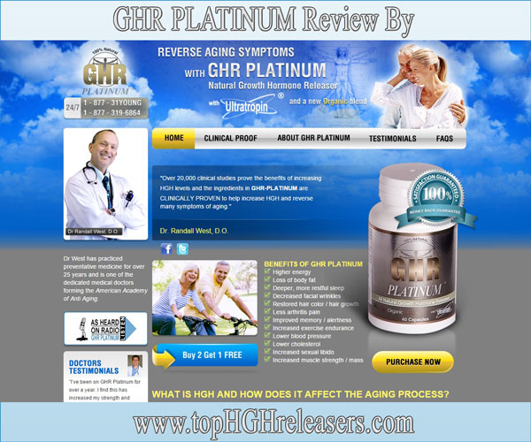 GHR Platinum Review - HGH Supplement To Skip?