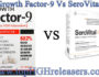 Growth Factor-9 VS SeroVital