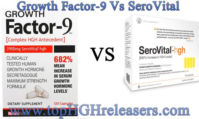 Growth Factor-9 VS SeroVital